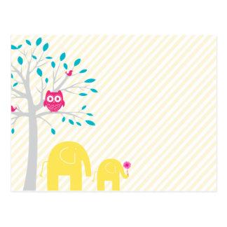 Owl_Elephant_birds ai Postal