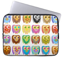 Owl Extravaganza Laptop Sleeve