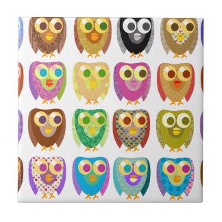 Owl Extravaganza Tile
