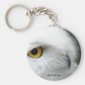 Owl Eye Keychain