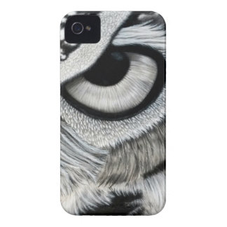 Owl Eye right side 2 of 2 iPhone 4 Case