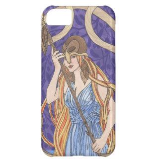 Owl Eyed Athena Messenger iPhone 5C Cases