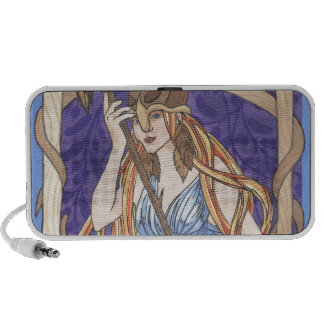 Owl Eyed Athena Messenger iPod Speakers