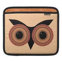 Owl Eyes custom laptop / iPad sleeve