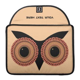 Owl Eyes custom MacBook sleeve Sleeve For MacBooks