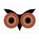 Owl Eyes custom postcard
