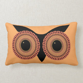 Owl Eyes custom throw pillow