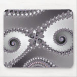 Owl Eyes - Fractal Mousepad