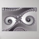 Owl Eyes - Fractal Poster