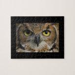 Owl Eyes Jigsaw Puzzle