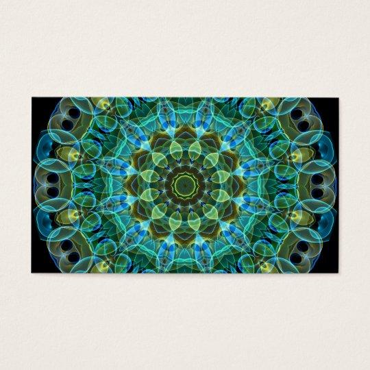 Owl Eyes kaleidoscope Business Card