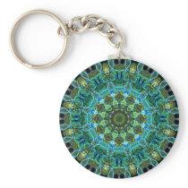 Owl Eyes kaleidoscope Keychain