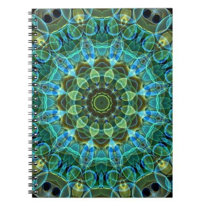 Owl Eyes kaleidoscope Notebooks