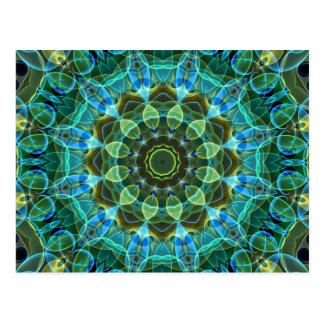 Owl Eyes kaleidoscope Post Card