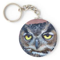 Owl Eyes Keychain