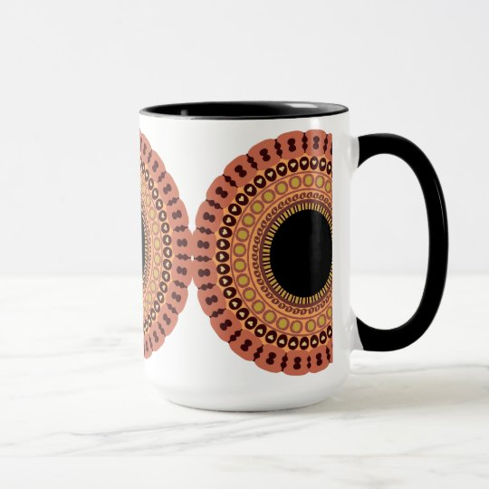 Owl Eyes mug - choose style & color