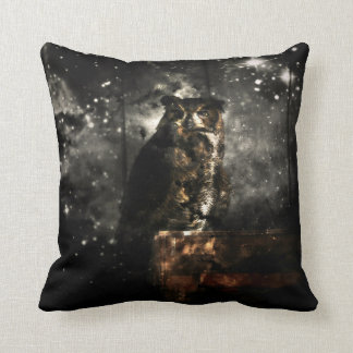 Owl Eyes on You Pillow