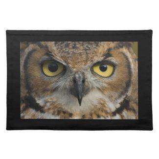 Owl Eyes Placemat