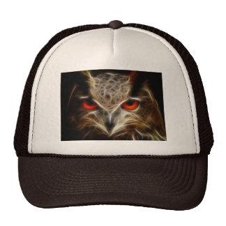Owl eyes trucker hat