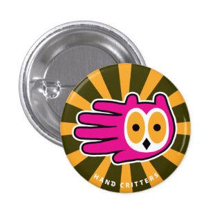Owl Face Pin