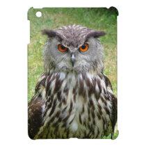 Owl Face iPad Mini Cover