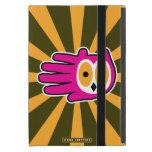 Hand shaped Owl Face iPad Mini Covers