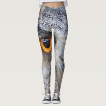 Owl face leggings