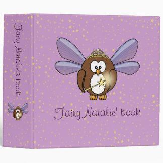 owl fairy binder