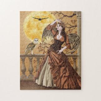 Owl Fairy, Owl Angel, Costume Masquerade Puzzle