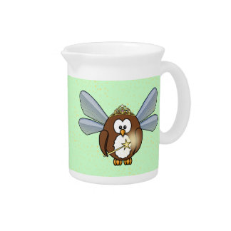 owl fairy drink pitchers