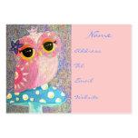 Owl Fairy Princess Business Cards