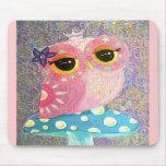 Owl Fairy Princess Mousepad