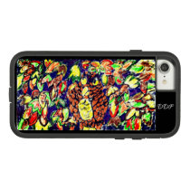 owl fall art five Case-Mate tough extreme iPhone 8/7 case