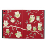 Owl Families on Branches Air iPad Case
