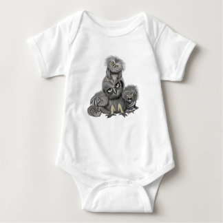 Owl Family Baby Bodysuit
