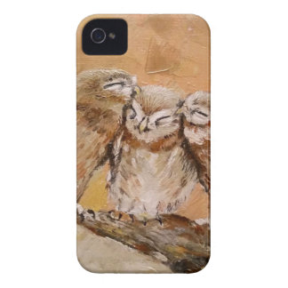 Owl Family Case-Mate iPhone 4 Cases