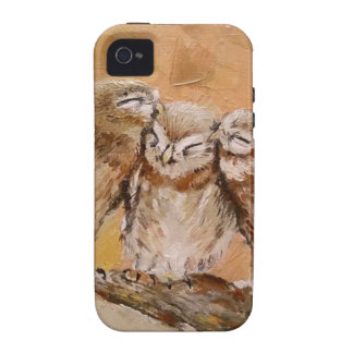 Owl Family iPhone 4 Case
