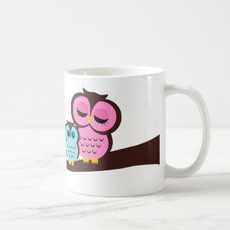 Owl Family Classic White Coffee Mug