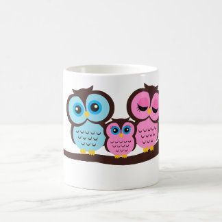 Owl Family Coffee Mugs