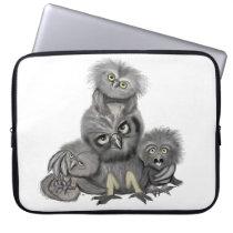Owl Family Computer Sleeve