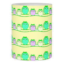 owl-family-cute-clipartyellow flameless candle