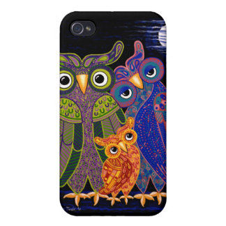 Owl Family Iphone Cover iPhone 4/4S Cases