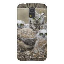 Owl Family Nature Birds Animals Galaxy S5 Case