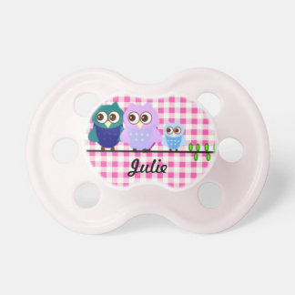 Owl Family Pacifier