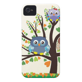 Owl Family Tree Case-Mate iPhone 4 Case