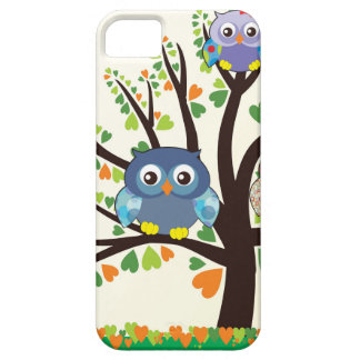 Owl Family Tree iPhone SE/5/5s Case