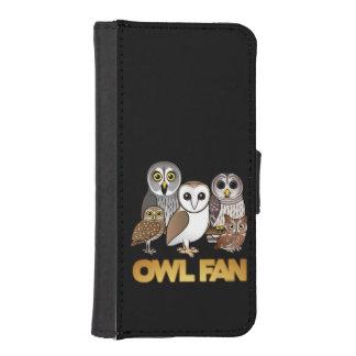 Owl Fan iPhone SE/5/5s Wallet