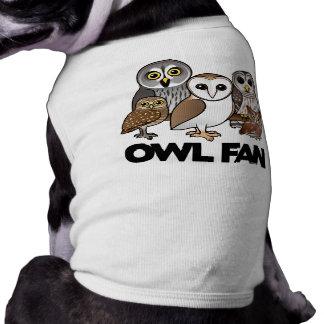 Owl Fan Pet Clothes