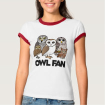 Owl Fan T-Shirt