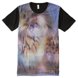 Owl Fantasy All-Over Print T-shirt